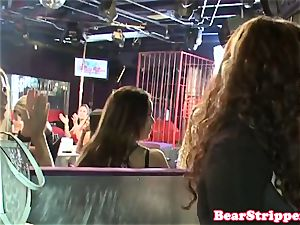 OMG my hotwife girlfriend gargling strippers prick