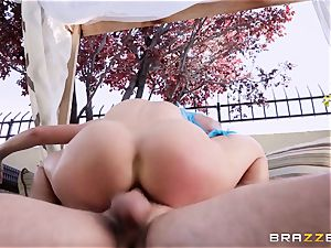 costume play pipe liking cougar Cherie Deville pulverized hard in the booty