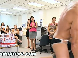 DANCINGBEAR - bday soiree crashed by Dancing hairy man