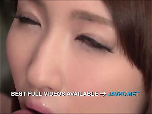 Rikka Anna amazing japanese suck off with sensuous