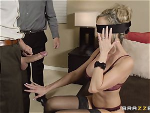 The hubby of Brandi love lets her shag a different stud