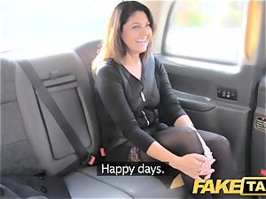 fake cab thick facial jism shot for dark haired in stocking