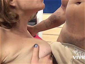 Krissy Lynn Gets A rock hard big black cock In Her pussy