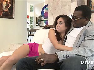 Mila Jade Getting Her honeypot cosseted By Her Step dad