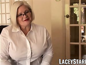 LACEYSTARR - obedient GILF caboose tucked by Pascal white