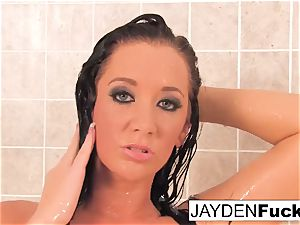 big-titted Jayden Jaymes Takes A super-hot long douche