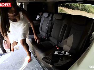 LETSDOEIT - kinky teenager bangs and deepthroats taxi Driver