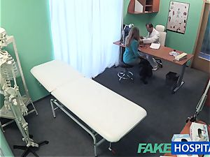 FakeHospital phat funbags honey has a back problem