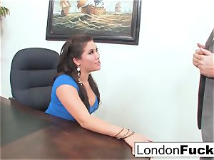 London Gets arched Over and Office banged
