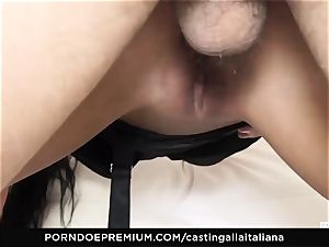 audition ALLA ITALIANA - mischievous fuck-fest with local first-timer