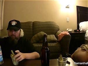 Behind the episodes motel fun with Samantha and Jayden