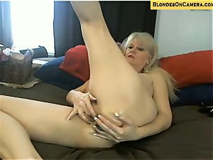 towheaded mature heads all super-naughty in all fuckholes on cam