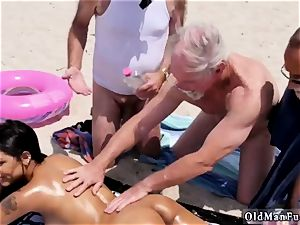 platinum-blonde gangbang senior very first time Staycation with a mexican sweetie