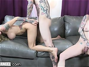 big-chested tattooed mummy Cams With Joanna Angel