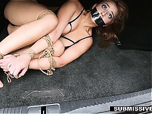 big-chested natural super-bitch gets pummeled like a corded brute
