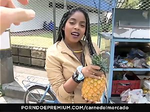CARNE DEL MERCADO - cute mexican hottie oily hump session