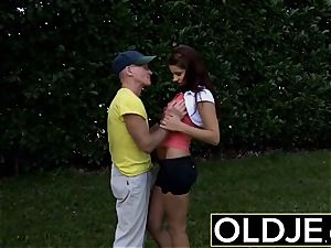 older youthfull xxx anal invasion for uber-sexy teenager gulps