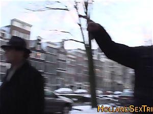 Dutch call girl fingerblasted