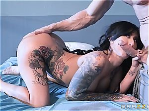 Johnny Sins gives Lily Lane her daily dosage of fuck-a-thon in prison