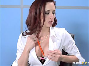 Chanel Preston romps her handsome guy at work