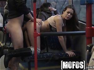 Mofos - Bonnie Shai gets boinked on the bus