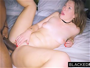 BLACKEDRAW girlfriend cheats with the largest beef whistle she's EVER seen