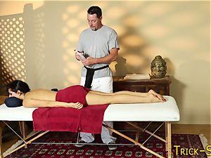 massaged dark haired jacks