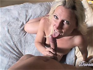 Devon Lee is loving her man's cane jammed in her appetizing facehole