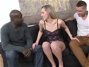 hotwife instructing multiracial rectal intercourse For slutty wife