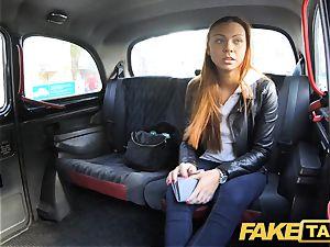 faux taxi hidden cam catches marvelous couple poking