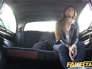 faux taxi hidden cam catches marvelous couple poking