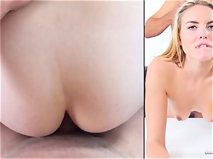 Keira Nicole showcases her talents at her audition
