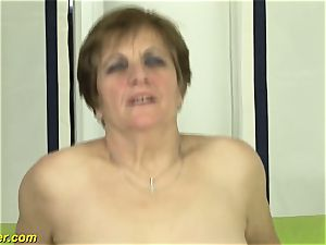 hairy grandmas very first pornography shooting