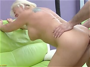 sumptuous 73 years old mom very first enormous hard-on ass-fuck plumb