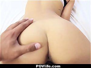 gorgeous Latina Gina Valentina pov pounding