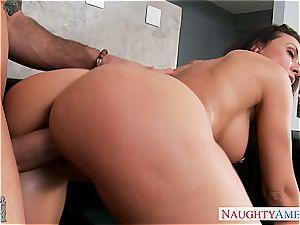 huge-chested girlfriend Rachel Starr porking