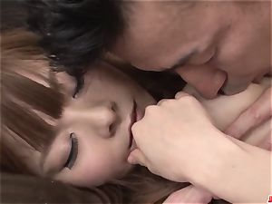 Anri Sonozaki wants to drink after such strenuous hard-core pla