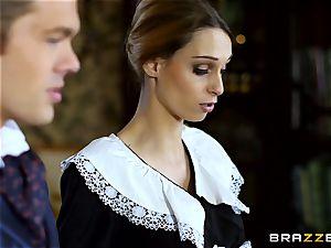 beautiful Maid Erica Fontes boinks in her super-hot uniform