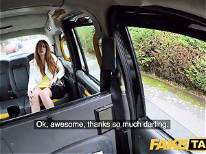 fake taxi wild redhead cutie in sloppy pummel