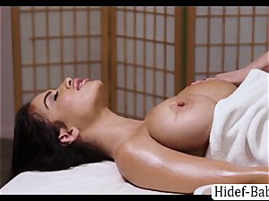 sizzling masseuse Darcie Dolce rubdown Victoria obese so romantic and gobbles her cooter