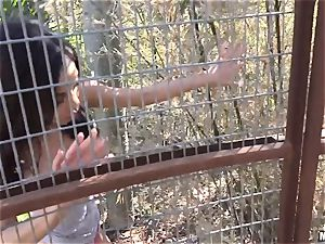 ample jugged ultra-cutie Shay Evans bashed deep in the bud cootchie