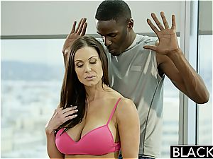 Kendra gets a portion of his black monster