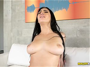 well-lubed up wonderful Crystal Rae torn up by meaty beef whistle