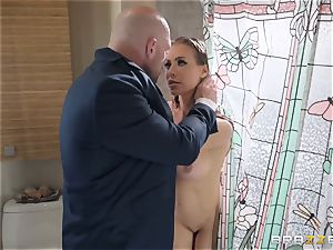 three way with Nicole Aniston and Amia Miley