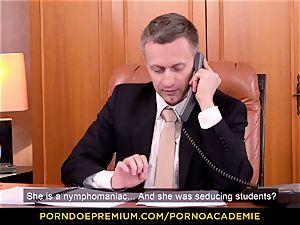 porno ACADEMIE - schoolteacher Valentina Nappi MMF three way