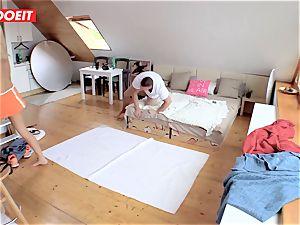 LETSDOEIT - cheating girlfriend Caught ravaging giant hard-on