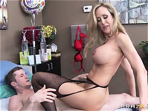 Rock firm patient gets humped by doc Brandi love