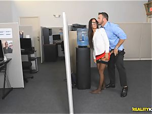 Office ravage with the assistant Aubrey Rose who happens to be the bosses daughter-in-law