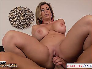 milf Sara Jay has a good rack and penetrates like a champion