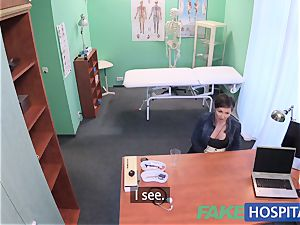 FakeHospital splendid Aussie tourist with massive boobs